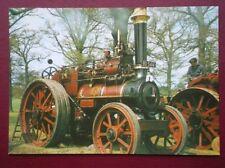 POSTCARD  MARSHALL TRACTION ENGINE 6 NHP BUILT 1905