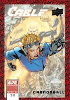CANNONBALL / 2018-2019 MARVEL ANNUAL (Upper Deck 2019) BASE Trading Card #30