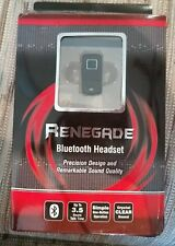 RENEGADE BLUE TOOTH HEADSET