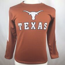 Texas Longhorns Youth Orange Long Sleeve Large (14-16) Thermal Colosseum Shirt
