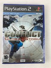 PS2 Conflict Global Storm (2005), UK Pal, Brand New & Sony Factory Sealed