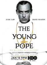 The Young Pope 1-pg clipping ad 2017 HBO series Jude Law Diane Keaton