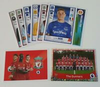 2020 Panini English Premier League Soccer Stickers - Lot of 20 incl 2 shiny