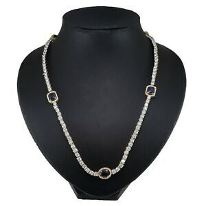 Cubic Zirconia Long 36 Inch Designer Only Necklace 18 RN 28