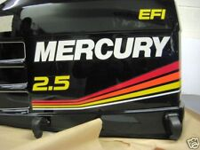 Mercury Racing 2.5L 260hp Decal Kit for Lightweight col