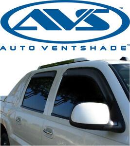 AVS 194355 In-Channel Window Deflector Ventvisor 4-Piece 01-07 Chevy Silverado