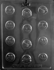 NEW BITE SIZE EMOJIS CANDY MOLD chocolate molds happy crying cool laughing emoji