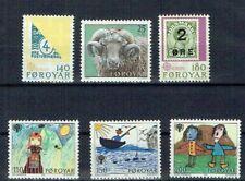 Faroer 1979  Mi  nr 42 - 47 Foroya Fa nr 44 - 49 (d4)