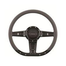 "Billet Specialties BLK29402 Steering Wheel Camber - 14"", 3-Spoke, 9-Bolt Mount"