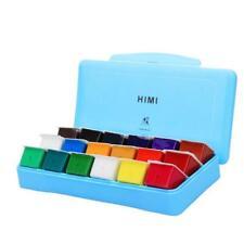 Gouache Paint Kit 18 Colors x 30ml Paint Set Unique Jelly Cup Design