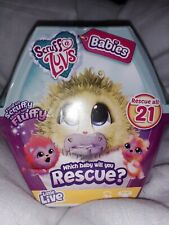 New and sealed. Scruff a luvs babies to rescue. Little Live. Age 3+