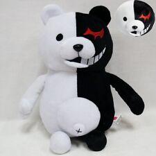 "Dangan Ronpa Mono Kuma Black&White Bear Monokuma Soft Plush Toy Doll 25cm / 9.8"""
