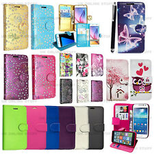 For Alcatel One Touch & Huawei Mobile Phone Luxury Wallet Leather Case Cover