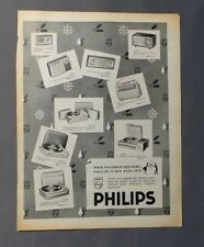 PUB PUBLICITE ANCIENNE ADVERT CLIPPING 150917 / TRANSISTOR ELECTROPHONE PHILIPS