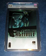 THE ACTIVITY #1 CGC 9.8 WHITE PAGES 1st app 1st print iMAGE COMIC 2011 movie opt
