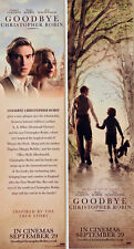 GOODBYE CHRISTOPHER ROBIN FILM BOOKMARKS X 2 DOMHNALL GLEESON  A A MILNE