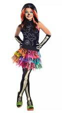 "MONSTER High Skelita ""Calaveras"" Taglia 8-10 anni costume Halloween."