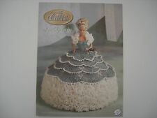 Annie's Attic Fashion Bed Doll Miss September Crochet Pattern  Cotillion