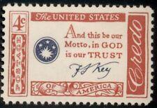 #1142 4¢ Francis Scott Key Autogr. Credo Lot 400 Mint Stamps Spice Your Mailings