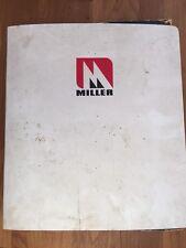 MILLER Tandem Series DISCS TRACTOR BROCHURE Catalog Sales