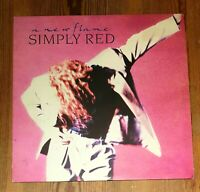 Simply Red ‎– A New Flame Vinyl LP Album 33rpm 1989 WEA ‎– WX 242