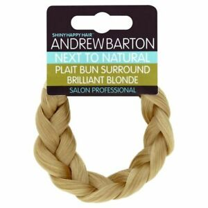 Hair plait braid Styling Wedding festival Bun surround  Blond Brunette Expresso