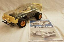 Tamiya Audi Quattro Rally 5836 58036 1:10 198385 RC Molto Rara Vintage