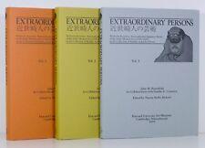 JAPANESE ARTISTS 1580-1868 Non-Conformist Volumes 1 2 3 Set Slipcase Asian Art