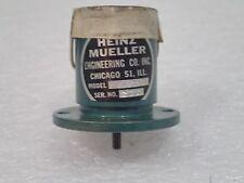 Warranty HEINZ MUELLER DC GENERATOR PERMANENT MAGNET MOTOR 815365