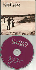 BEE GEES Alone RARE SINGLE MIX & Stayin Alive LIVE CARDED LIMITED USA CD Single