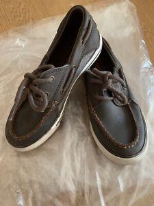 Boys Size 13 Uk Sketchers Brown Shoes