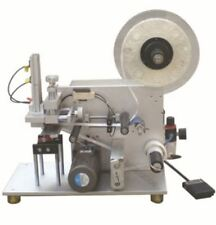 Halbautomatische Oberfläche Flache Etikettiermaschine LT-60 Luftpumpe 110V Y iy