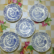 5pcs Old Conway Pottery England Saucer