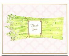 Asparagus Garden - Thank You - Blank Note Cards - By Current -  Set of 10