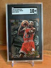 95-96 Fleer Metal Michael Jordan Nuts & Bolts! SGC 10! Very Nice Flawless Card!