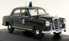 Atlas 1/43 Scale 002 Mercedes Benz 180D Deutschland Police Car Diecast model car