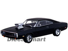 THE FAST AND THE FURIOUS (2001) 1970 DODGE CHARGER BLACK 1:43 GREENLIGHT 86201