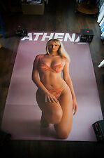 ATHENA ADRIANA KAREMBEU 4x6 ft Shelter Original Vintage Sexy Advertising Poster