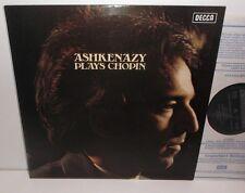 SXL 6693 Ashkenazy Plays Chopin Vladimir Ashkenazy