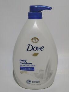 1 Bottle Dove 34 Oz Deep Moisture Renew Blend Skin Natural Nourishing Body Wash