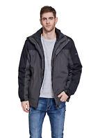 New Men's Mountec 3-in-1 Mountain Hooded Waterproof Thermal Jacket