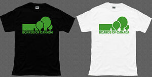 BOARDS OF CANADA Black/White T-Shirt Tee Size S-3XL tr1