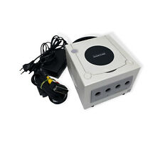 Nintendo Gamecube Konsole in der Farbe  Perl Weiß / Pearl White inklusive Kabeln