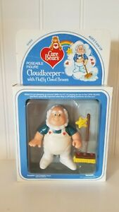 """Care Bears CLOUD KEEPER New In Box NIB   ***  UNPUNCHED *** 4"""" posable"""