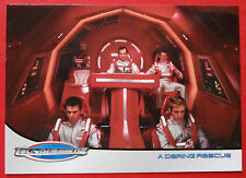 THUNDERBIRDS (The 2004 Movie) - Card#40 - A Daring Rescue - Cards Inc 2004