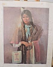 "Native American Print-""You cannot give away kindness....""""  Karen Thayer"
