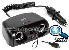 RING 12v Auto Doppia Accendisigari Presa Adattatore Caricabatterie Micro USB RMS15