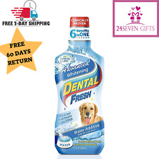 Dental Water Additive 17oz Teeth Oral Care Fresh Breath Plaque For Pet Dogs Cats
