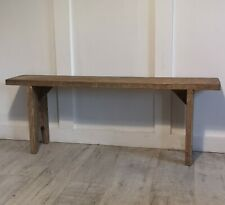 Pine bench reclaimed rustic timber 4 foot other sizes available