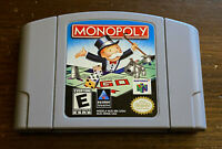 Monopoly Nintendo 64 N64 Cleaned Tested Authentic Fast Free Shippping